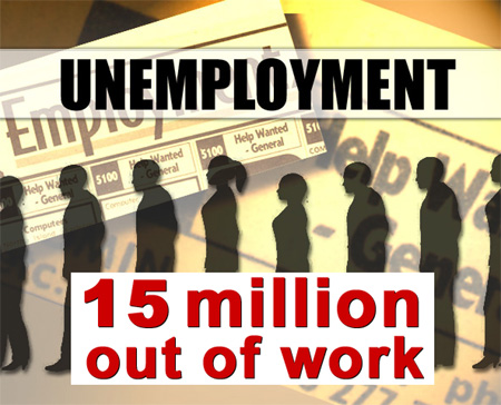 Across America 15 Million People Still Unemployed