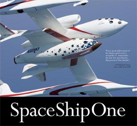 SpaceShipOne spacecraft
