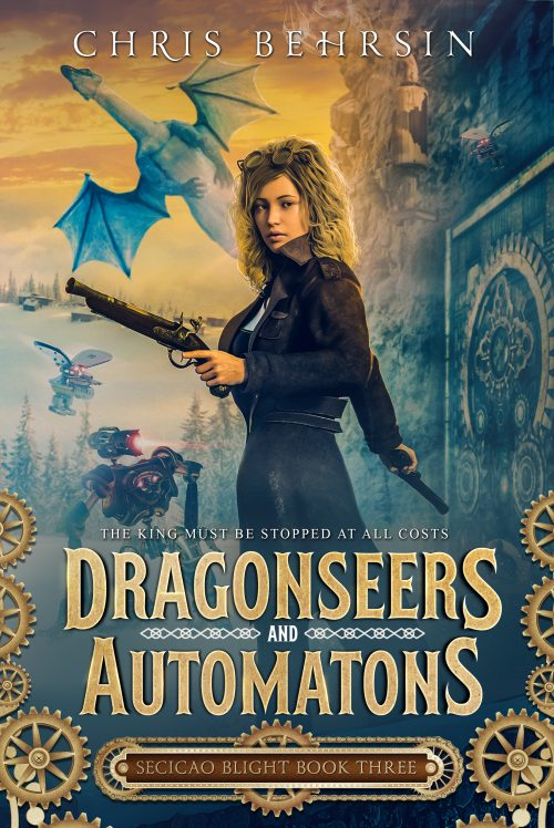 Book Cover: Dragonseers and Automatons