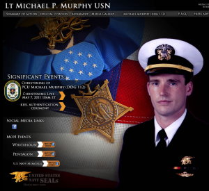 Michael Murphy Navy SEAL Medal of Honor