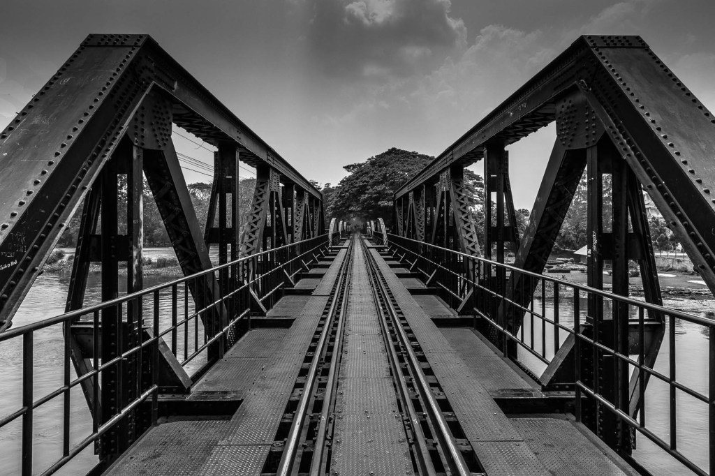Death Railway ,by Chris Bird -Kanchanaburi,Thailand.