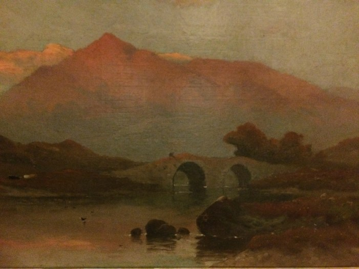 Alfred de Brianski Jr. - Original Oil on Canvas - Wales