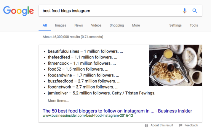 Instagram Influencer Research