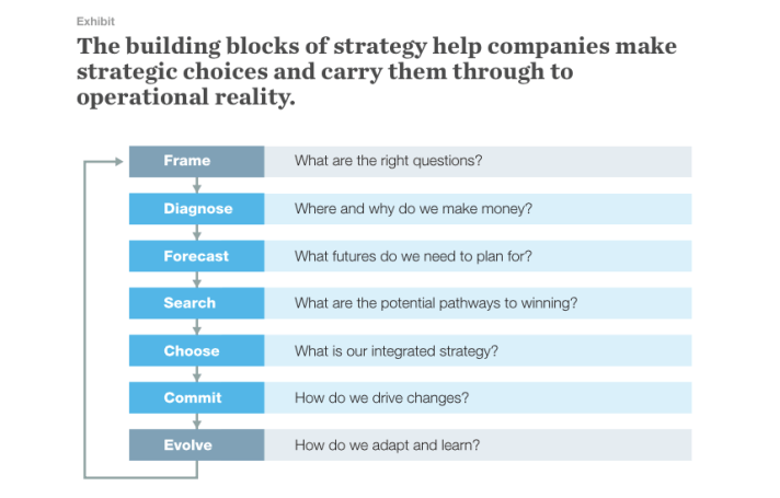 McKinsey Building Blocks of Strategy