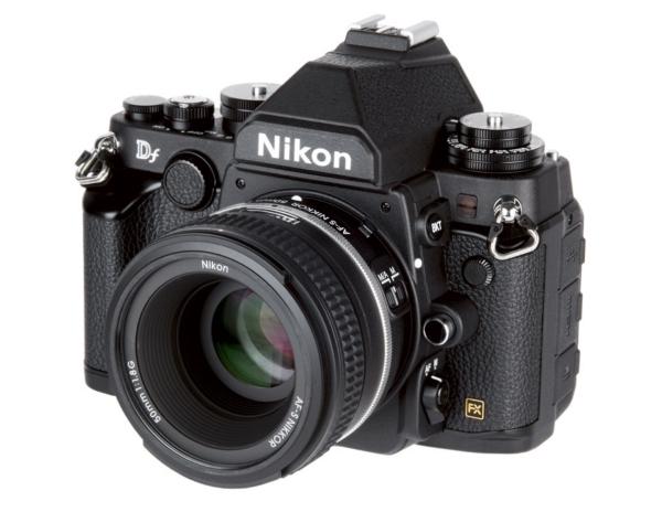 Nikon Df in black