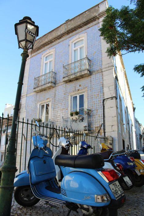 Lissabon Vespa