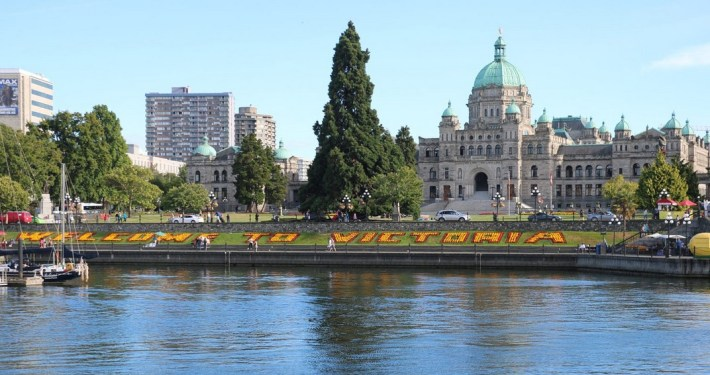 Victoria in British Columbia
