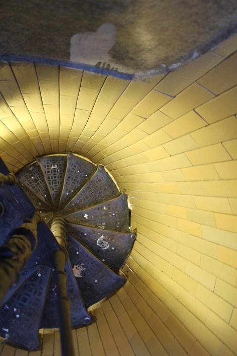 Treppen zur Kuppel des Petersdoms