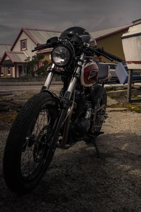 Louis Bike in Mallaig