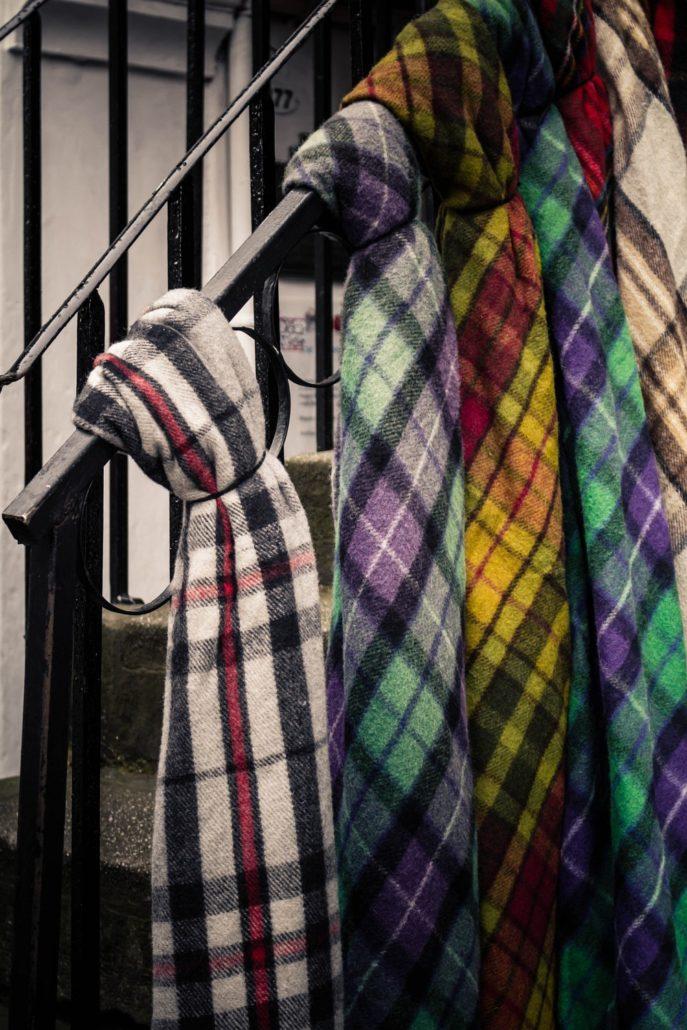 Schottenschal Edinburgh