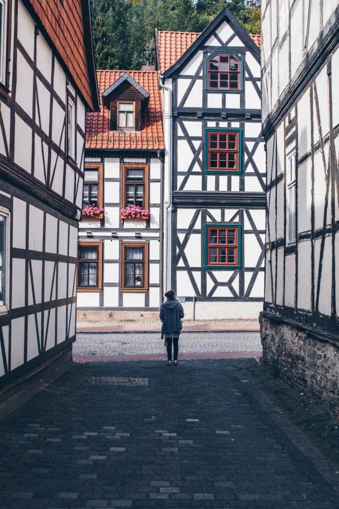 Fachwerkhäuser in Stolberg im Harz