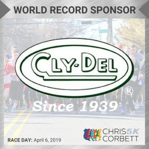 World Record CC5k Sponsor ClypDel