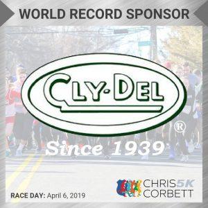 World Record CC5k Sponsor ClypDel