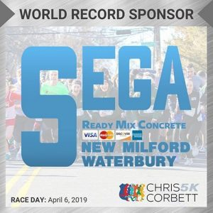 World Record CC5k Sponsor-Sega