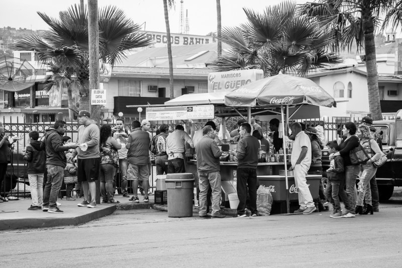 Ensenada Food Stall