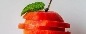 Certain fruits, including apples, are high in FODMAPs