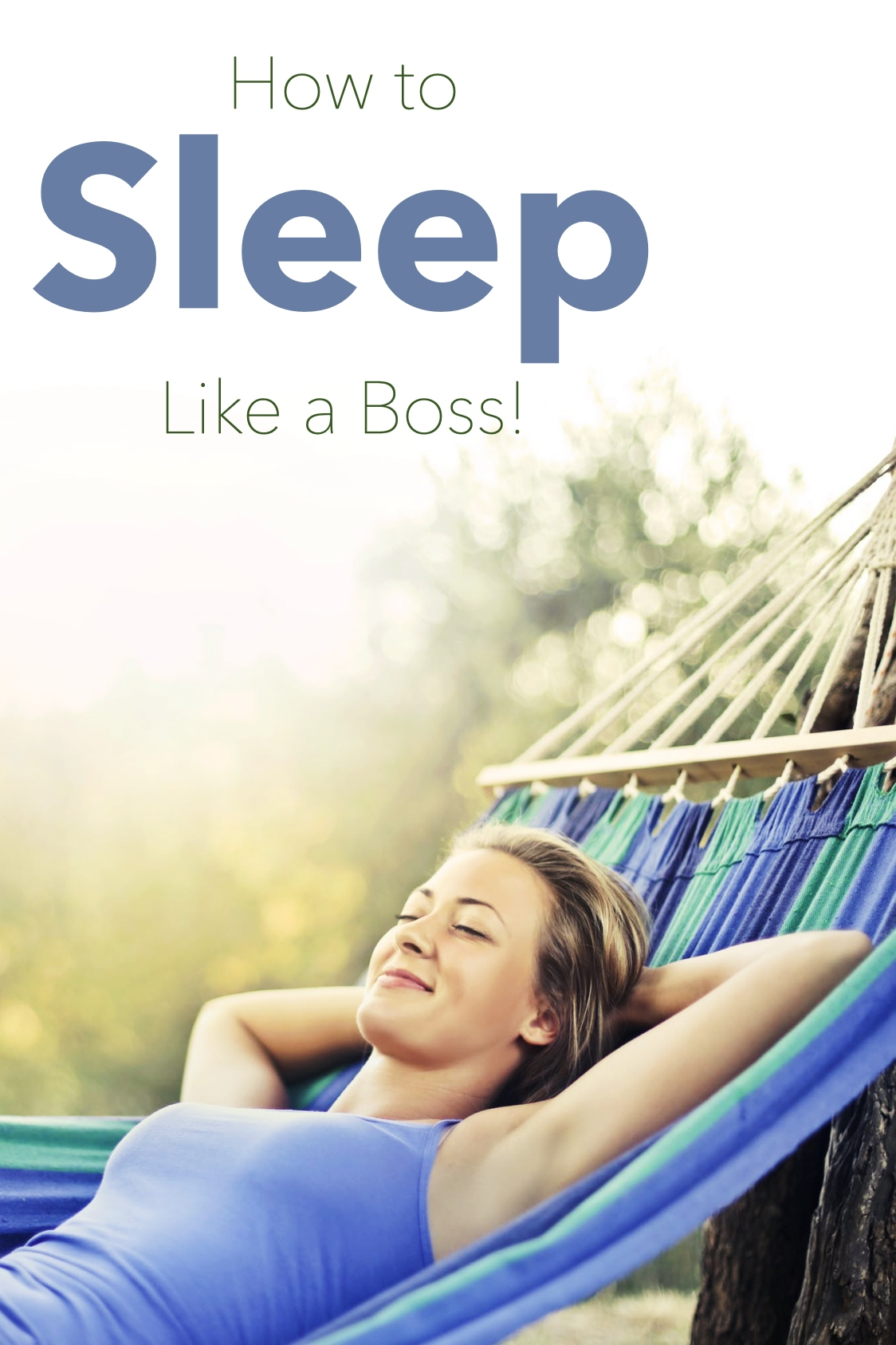 What can you do to improve your sleep?