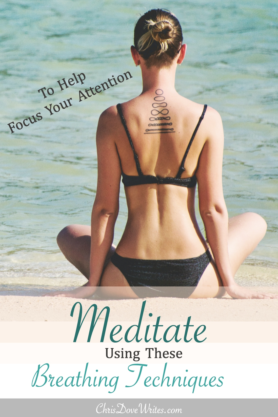 Meditation can bring you into the moment, heightening your awareness
