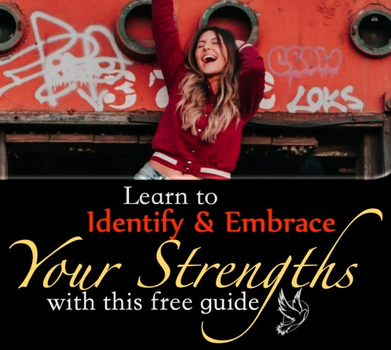 Subscribe to receive your free copy of the Identify and Embrace Your Strengths guide, today!