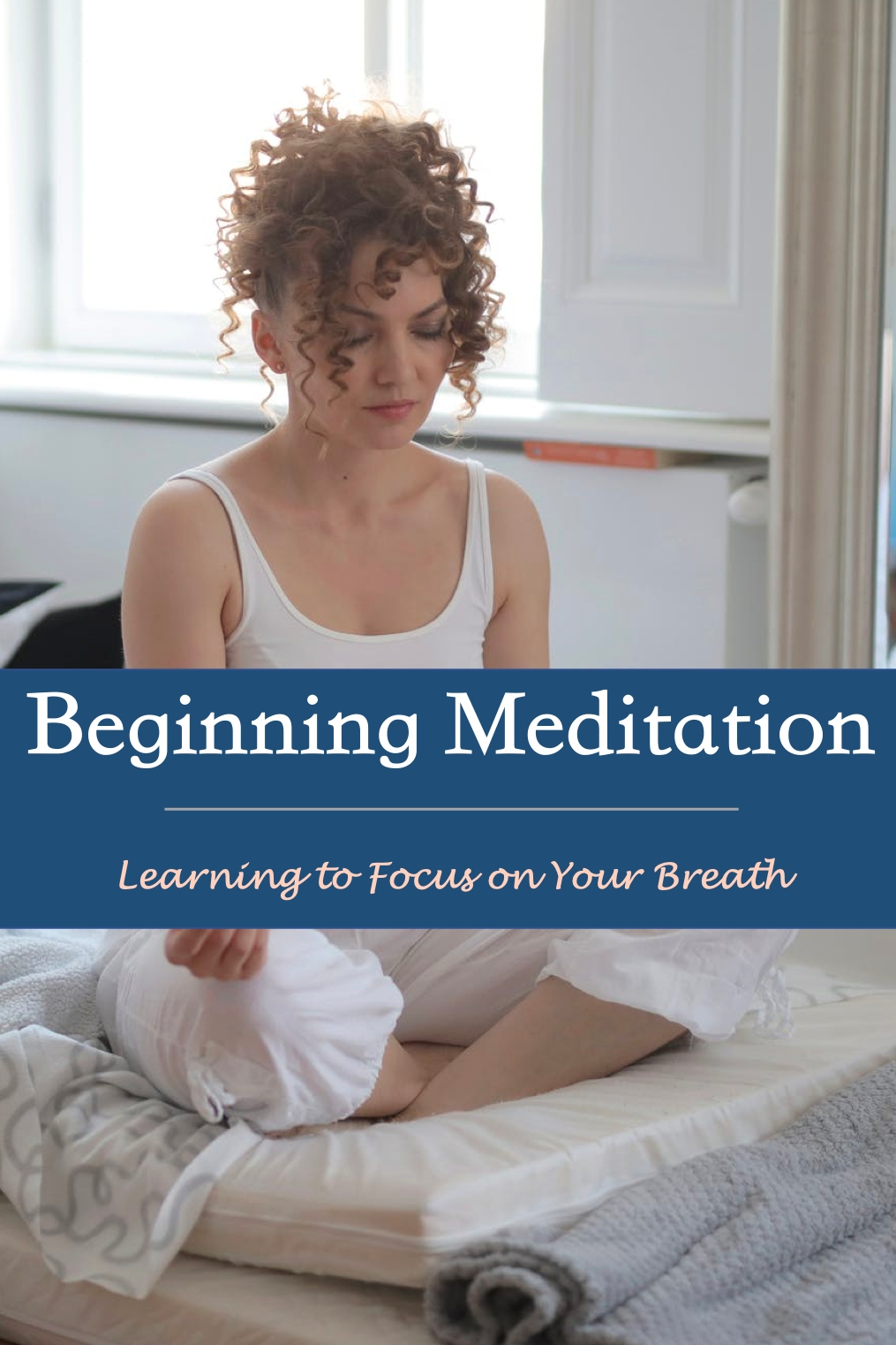 Pin about Meditation for Beginners
