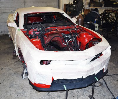 New CDRC Project: New Plymale Camaro Under Wraps