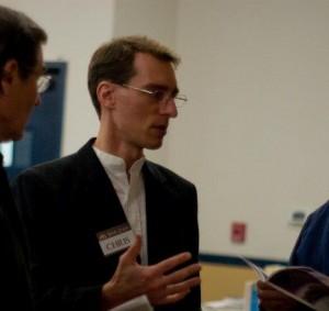 Christopher Fitz at Annual Banquet for Brethren Housing Association