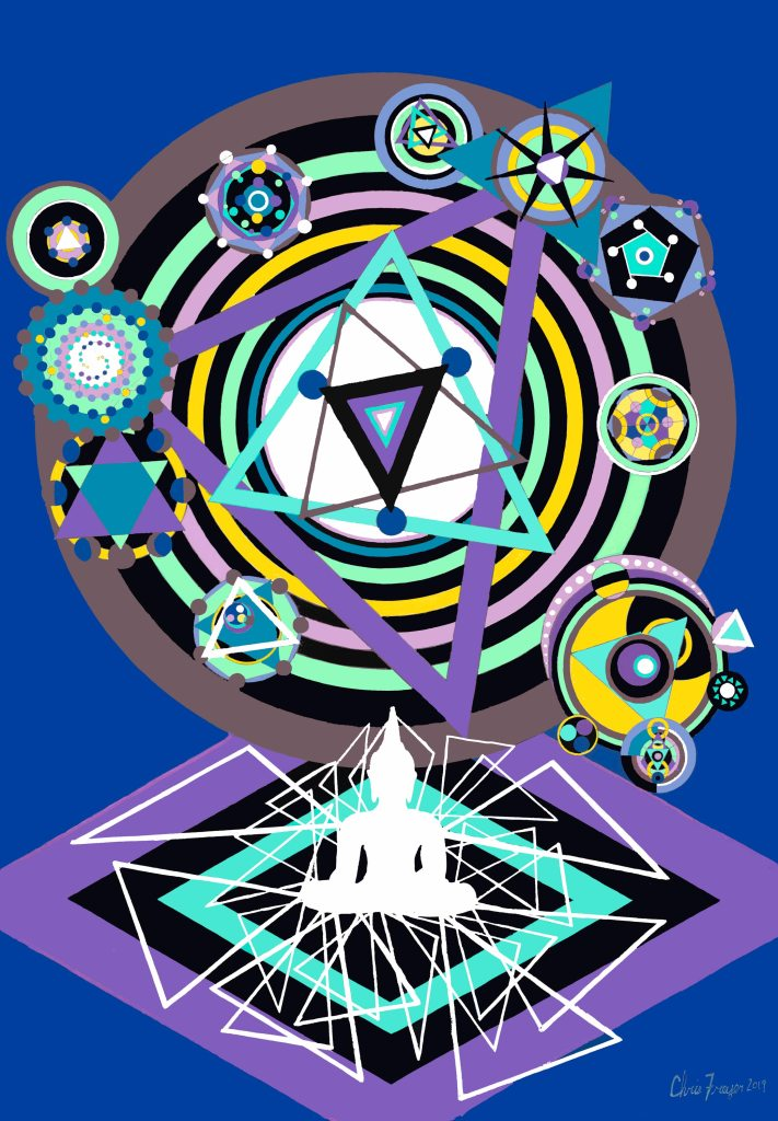 Metaphysical Transmutation is an art piece by Chris Freyer in 2019
