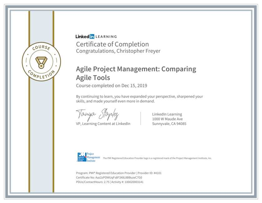 CertificateOfCompletion_Agile-Project-Management_-Comparing-Agile-Tools-1