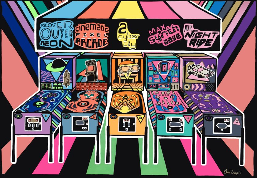 The Pinball Experience by Chris Freyer