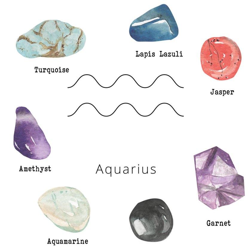 Aquarius-Gemstones