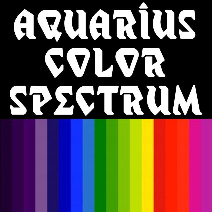 Aquarius-color-spectrum