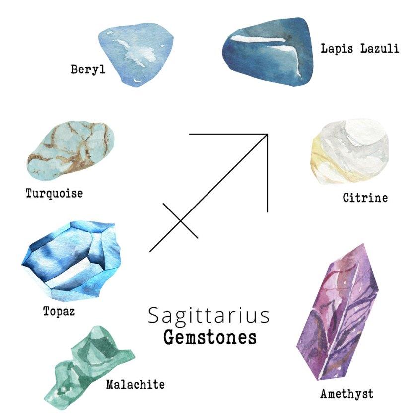Sagittarius-Gemstones