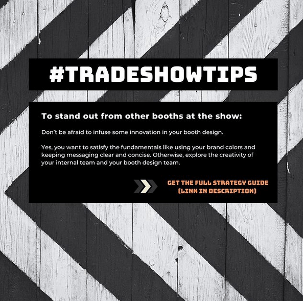 Tradeshow tips 1 by Chris Freyer