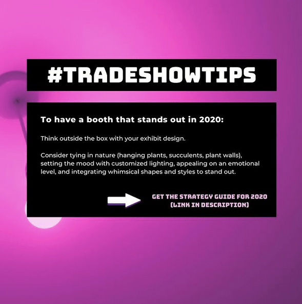 Tradeshow tips 3 by Chris Freyer