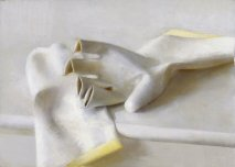 Contemporary Painter Christopher Gallego-Image Title-Rubber Gloves
