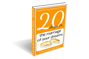 20 days to the marriage of your dreams book cover