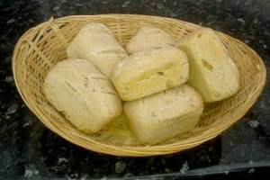 Wild Garlic Bread Rolls