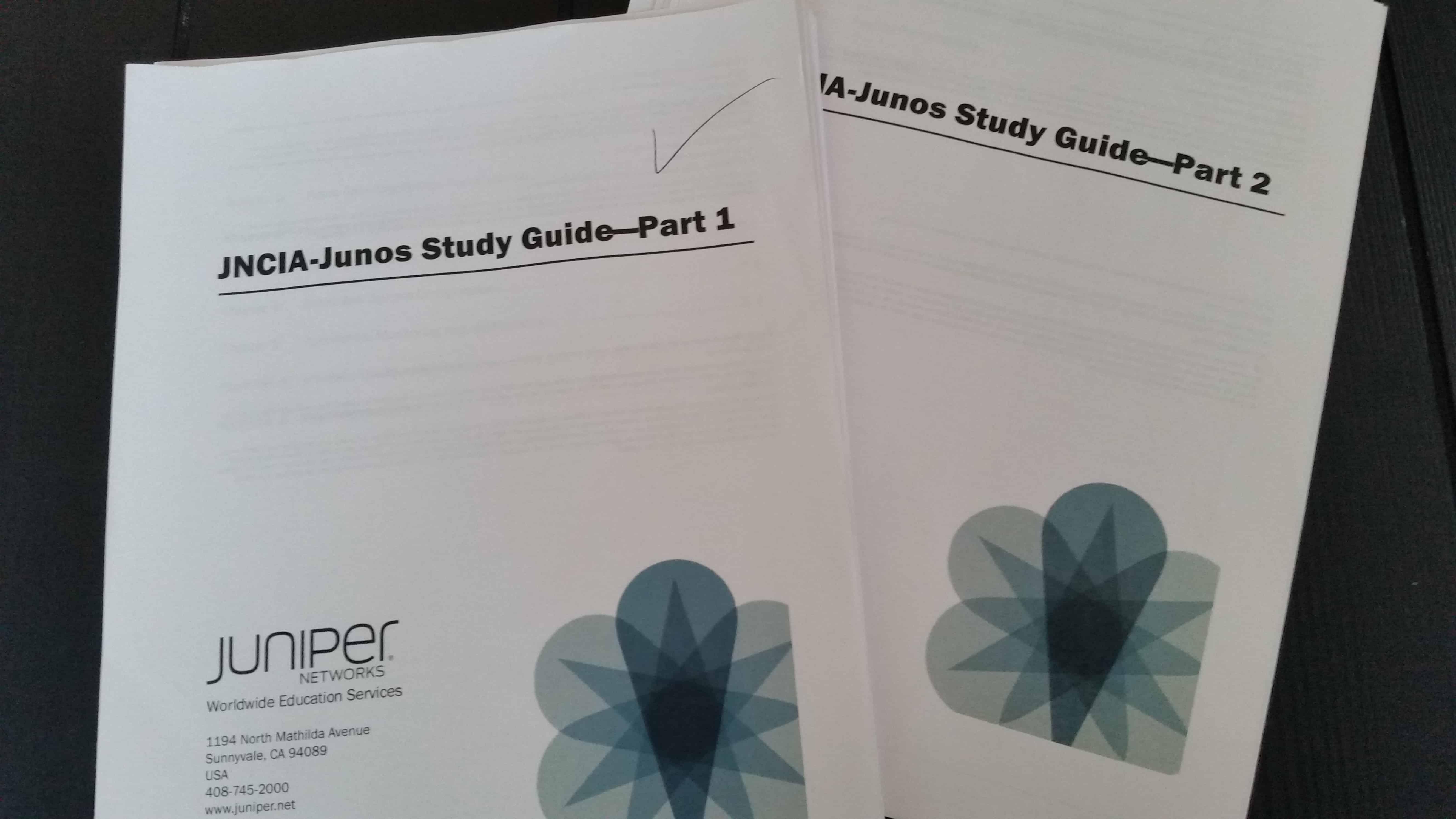 Juniper Tips from the JNCIA-Junos Study Guides