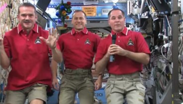 Happy New Year from the ISS