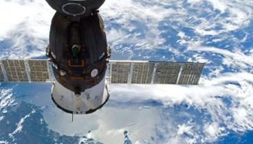 Docked Soyuz