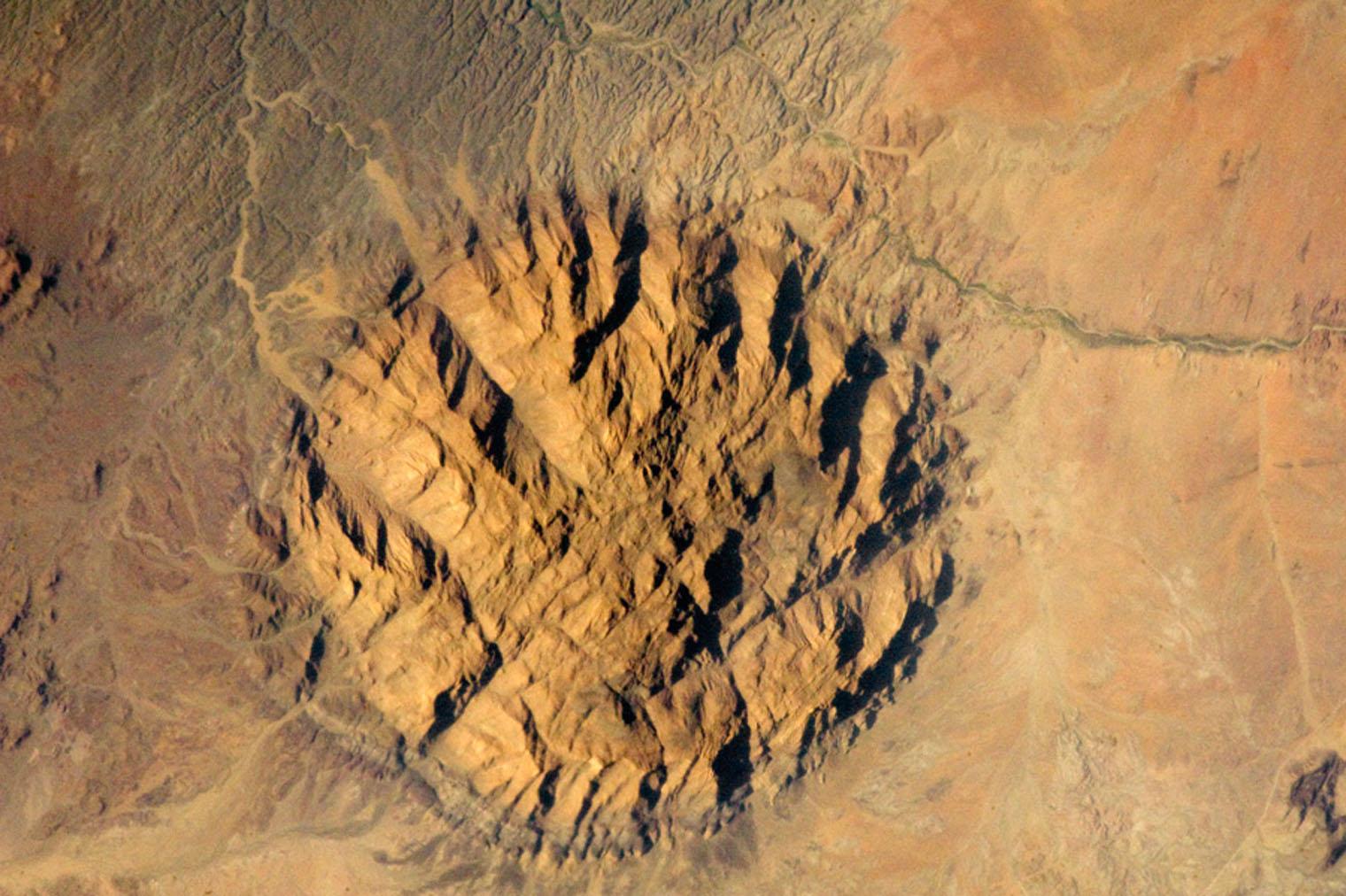 Lava Carbuncle, Namibia