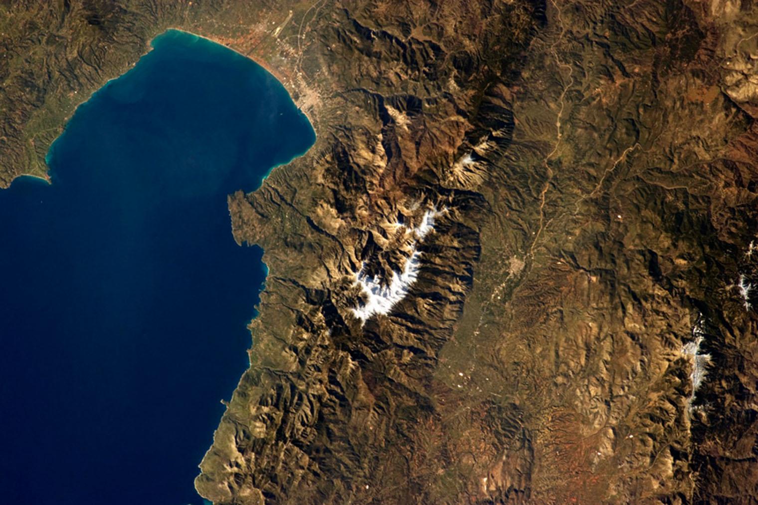 Sparta to Kalamata, Greece
