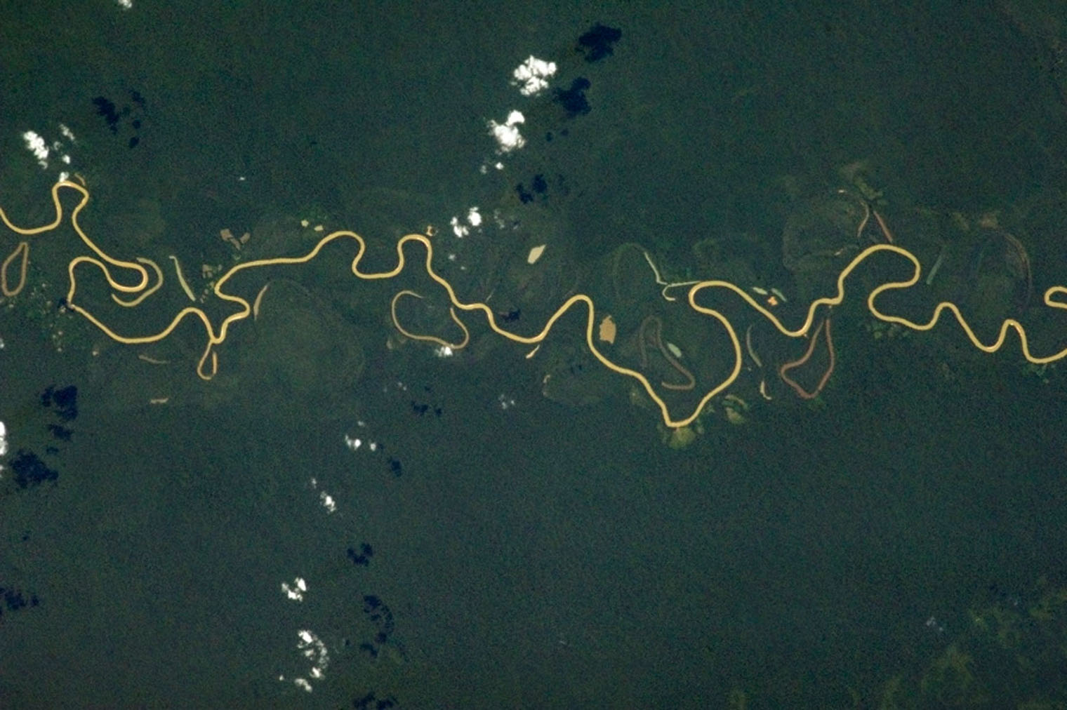 Squiggly river