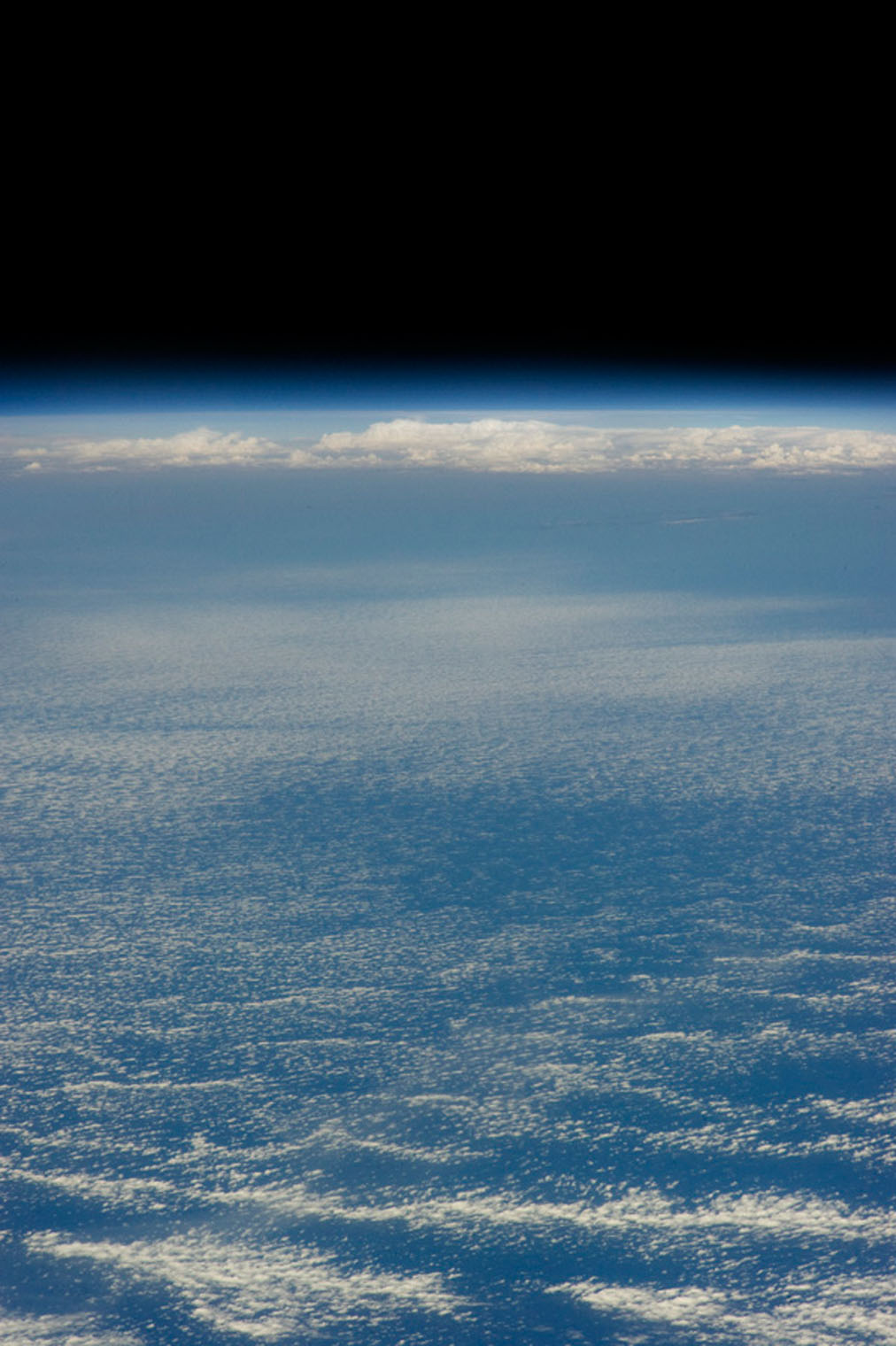 A dramatic view of our Earth