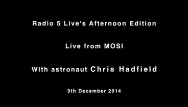 Chris live at MOSI