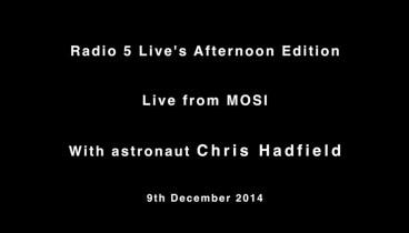 Chris live at MOSI