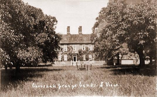 Chrishall Grange and Mr Samuel Jonas