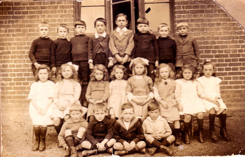 Brothers and Sisters at School 1918