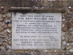 william way vicar of chrishall essex