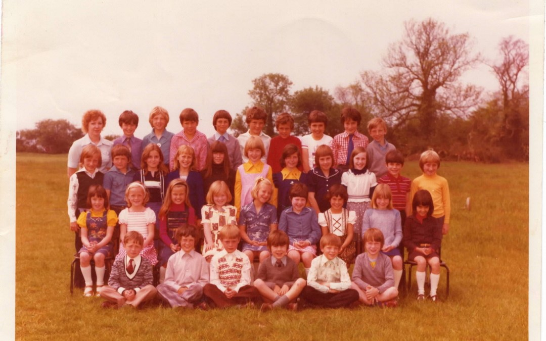 Chrishall School 1976/7